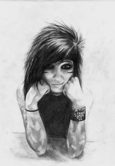 Andy art on Pinterest | Andy Biersack, Black Veil Brides and Drawings Of