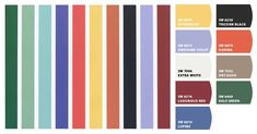 """AUTHENTIC EGYPTIAN PALETTE -  from """"Living Colors"""" by Walch & Hope - translated into Sherwin Williams paint colors by the """"Chip It!"""" tool"""
