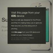 « Sun » : application Web Mobile spéciale météo