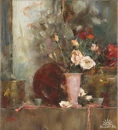 Still Life with Roses - Laura Robb