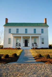 Greek Revival Farm House / Custom Structures Inc