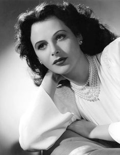 """Hedy Lamarr, 1943 """"American men, as a group, seem to be interested in only two things, money and breasts. It seems a very narrow outlook."""""""