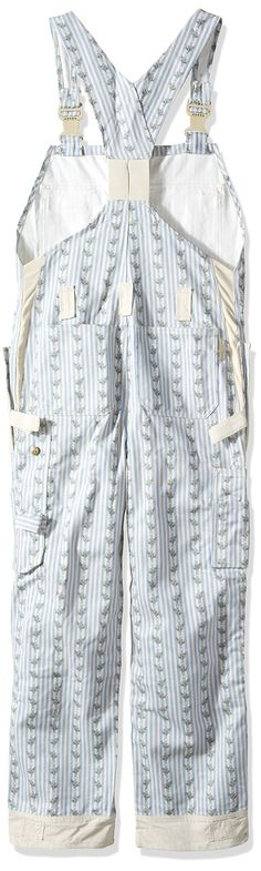 Garden Girl USA Full Dungaree/Bibpants 8Inch Country Stripe Blue >>> To view further for this item, visit the image link. (This is an affiliate link)