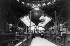 TWO BALLOONS at the exposition universelle PHOTO POSTER paris 1889 24X36