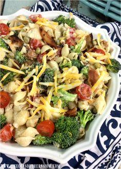 Broccoli Ranch Pasta Salad – Life of a Southern Mom