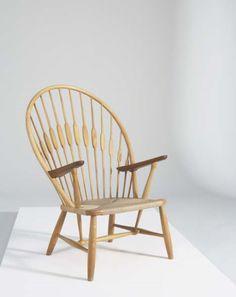 "HANS WEGNER, ""Peacock"" chair"