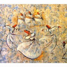 Sufis! Ecstatic whirling dervishes!
