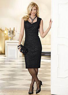 Kleid im QUELLE Online Shop Shops, Dress Suits, Pencil Dress, Lbd, Hosiery, Sheath Dress, Evening Dresses, Tights, Coat