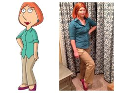 Homemade Family Guy Halloween costumes. Lois Griffin.