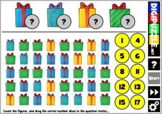 Christmas CountIt Learn To Count, Christmas Games, Learning, Fun, Studying, Teaching, Holiday Party Games, Onderwijs, Hilarious