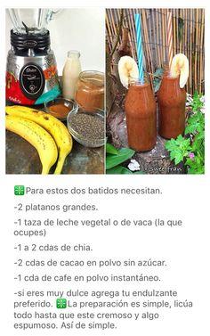 Batido Choco Moka Banana