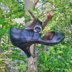Black 3 inch heels with buckle Gently worn buckled heels appropriate for work or play. ☘☘☘ Sofft Shoes Heels