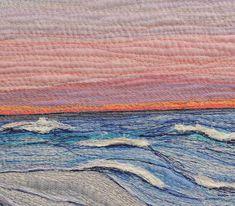 """Textile Art Quilt """"Endings"""""""