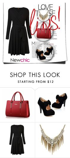 """Newchic Contest"" by hazreta-jahic ❤ liked on Polyvore featuring chic, New and newchic"