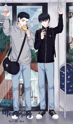 Memories ah gantengnya Aaron dan Bagas😍😍😍 Spirit Fingers Webtoon, Just Friends, Fujoshi, Aesthetic Anime, Pretty Boys, The Dreamers, Besties, Novels, Memories