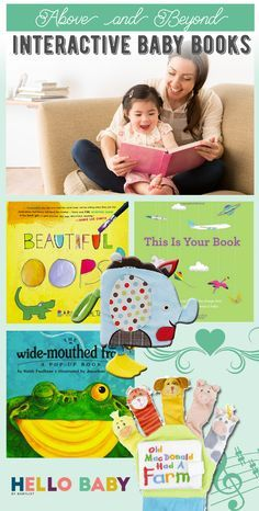 15 Interactive Books Babies Just Love
