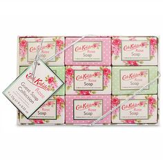 Peter's of Kensington | Cath Kidston - Rose Guest Soaps 25g 9pce