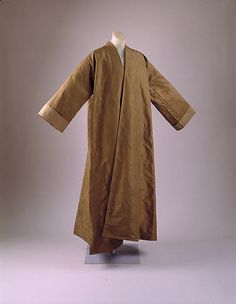 Man's Morning Gown (Banyan)  Date:     1735–40  Culture:     British  Medium:     silk  Credit Line:     Purchase, Irene Lewisohn Bequest, 1981  Accession Number:     1981.208.2