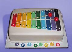 Xylophone Cake