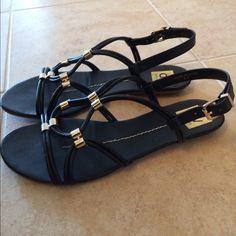DV sandals Black DV gladiator sandals. Size 8.5. Original box. Gently worn a handful of times. Dolce Vita Shoes Sandals
