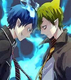 - Ao no Exorcist - Rin vs Amaimon