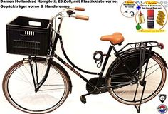 Hollandrad Damen 28 Zoll Komplett mit Plastikkiste