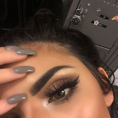 Pin by nic on wake up & make up beauty makeup, hair makeup, Pretty Makeup, Love Makeup, Makeup Inspo, Makeup Trends, Makeup Style, Perfect Makeup, Make Up Looks, Makeup Goals, Makeup Tips