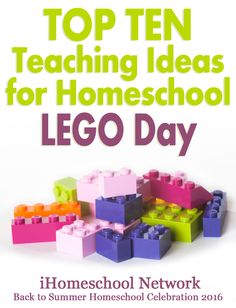 Top Ten Teaching Ideas for Celebrating LEGO Day