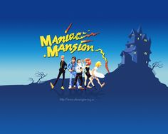 Maniac Mansion-weirdest old school Nintendo game ever!