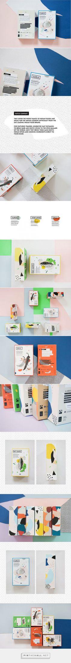 Packaging for Spices Concept Design by Agata Jeziurska (Poland) - http://www.packagingoftheworld.com/2016/05/packaging-for-spices-concept.html