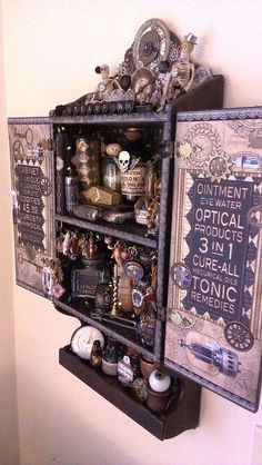 44 Unique Steampunk Halloween Decorating Ideas | DigsDigs