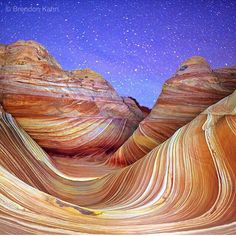 "Vermillion Cliffs National Monument, Arizona - ""The Wave"" @brendonkahnphoto"