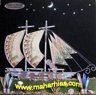mahar hias perahu