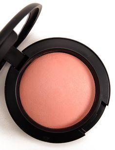 MAC Lured to Love blush - peachy-pink