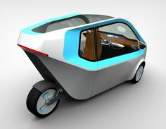 Handy Electric Concept Vehicle For People With Limited Mobility