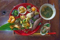 The herb diet of Okinawa's long-living elders