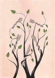 Climbing Plant  -Ian Dingman (tattoo?)