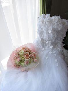 元花嫁様からのご注文 まだ見ぬお嬢様へ : 一会 ウエディングの花