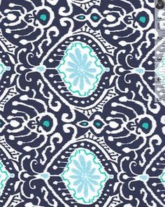 Cuzco Ikat Indigo by Kate Spain for Moda Fabrics. Available at Quilt Expressions. MIX THESE TWO COLOURS