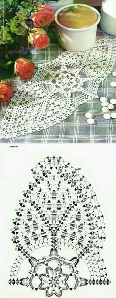 Filet Crochet Charts, Crochet Diagram, Crochet Patterns, Crochet Potholders, Crochet Doilies, Crochet Flowers, Pineapple Crochet, Vintage Crochet, Pot Holders