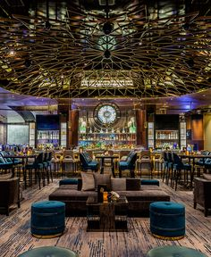 Located at the Aria Resort & Casino, Las Vegas. Designed by Studio Munge; architecture by YWS Architects.