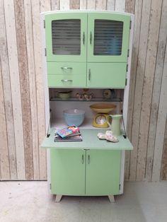 Vintage Retro Kitchen Cabinet Cupboard Larder kitchenette 50s 60s Mid Century