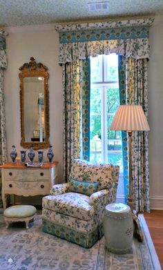 The Best of Show-house Design-Part 2 Highlands House, Pelmets, Window Dressings, Curtain Designs, Pattern Mixing, Drapes Curtains, Beautiful Interiors, Window Treatments, Bedroom Ideas