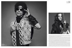 Prince by Inez & Vinoodh for V #84 Fall Preview 2013