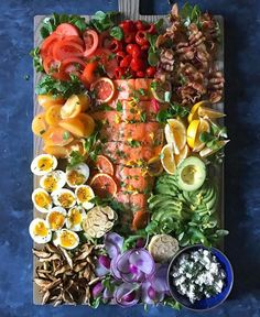 California Cobb with Roasted Salmon