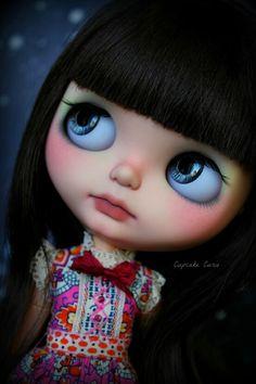 Big blue eyes...