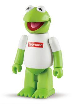 Kermit the Frog Supreme Bear Brick