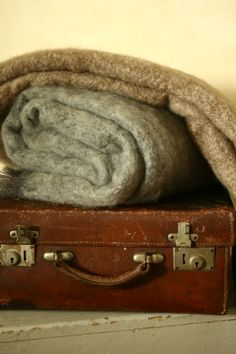 winter greys mohair throw