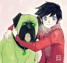 Cujo and Danny by demitasse-lover.deviantart.com on @deviantART