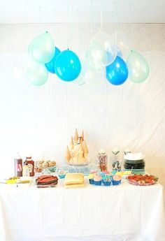 Life is Beautiful: mermaid: under the sea birthday party.